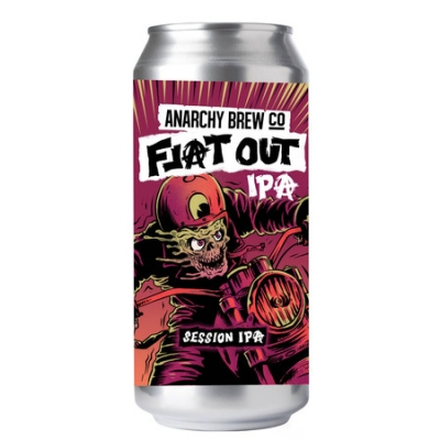 Anarchy Flat Out 440ml 4.5% IPA