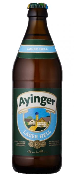 Ayinger German Helles Lager 500ml 4.9%