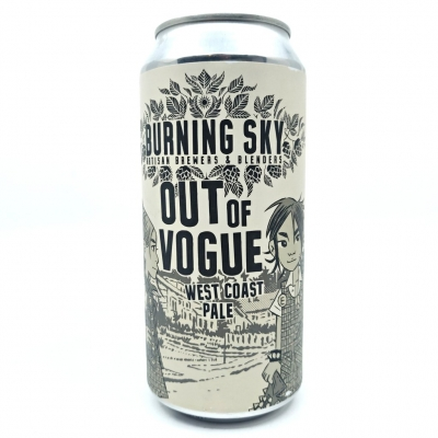Burning Sky Out Of Vogue West Coast Pale 440ml 5.9%