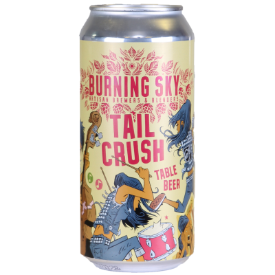 Burning Sky Tail Crush Table Beer 440ml 3%