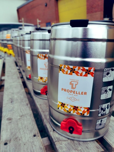 Tapestry Propeller Pale Ale 4.2% 5 Litres
