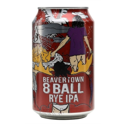 Beavertown 8 Ball Rye IPA 6.2% 330ml