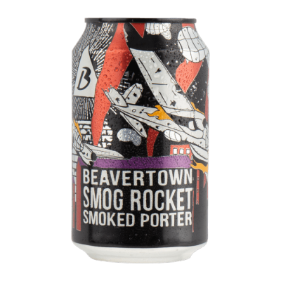 Beavertown Smog Rocket Smoked Porter 5.4% 330ml