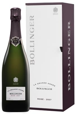 Bollinger Grand Annee Rose 2007 Prestige Gift Box 70cl