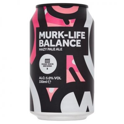 Magic Rock Murk-Life Balance Hazy Pale 330ml 5.0%