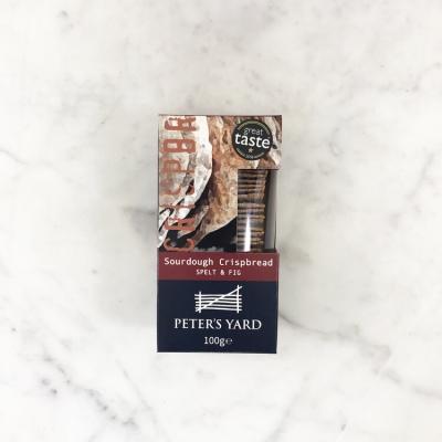 Peter's Yard Spelt & Fig Crispbreads - 100g