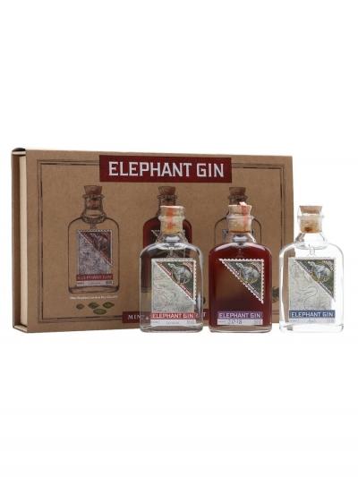 Elephant Gin 3 x 5cl Gift Box