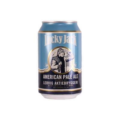 Lervig Lucky jack Pale Ale 330ml  4.7%
