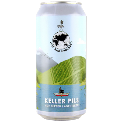 Lost and Grounded Keller Pils Lager 4.8% 330ml