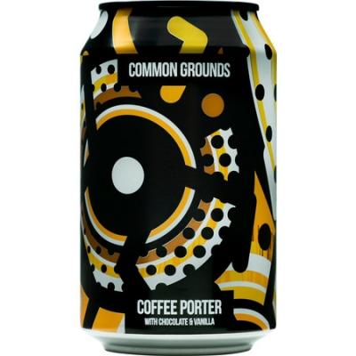 Magic Rock Common Ground Coffee Porter 5.4% 330ml