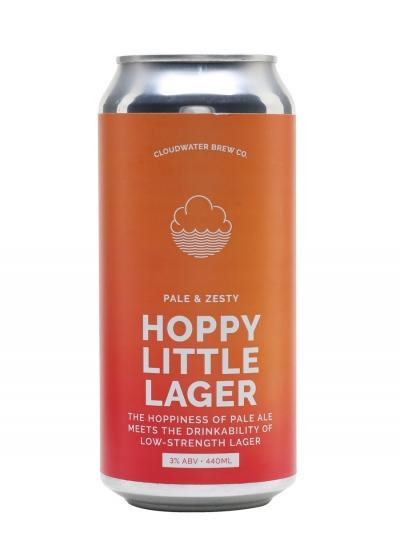 Cloudwater Hoppy Little Lager 440ml 3%