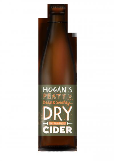 Hogans Peaty Dry Cider 500ml 5.8%