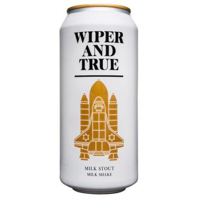 Wiper and True Milkshake Milk Stout 5.6% 440ml