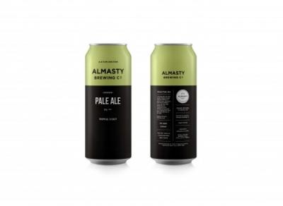 Almasty Green  Pale Ale 5.0% 440ml