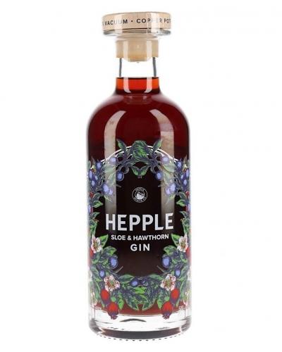 Hepple Sloe and Hawthorn Gin 50cl