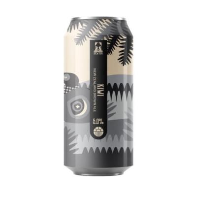 Brew York Kiwi NZ Brown Ale 8.5% 440ml