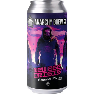 Anarchy New Age Crisis Session IPA 4.8 % 440ml