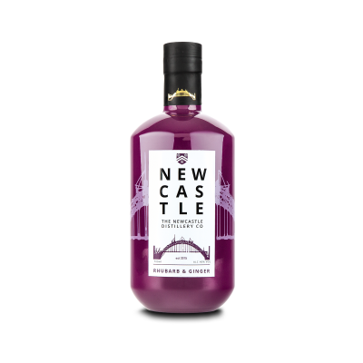 Newcastle Rhubarb and Ginger Gin 70cl 40%