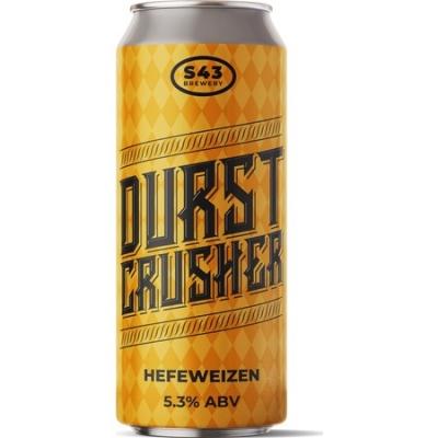 S43 Durst Crusher Hefeweizen 5.3% 440ml