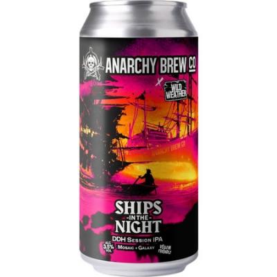 Anarchy Ships in Night DDH IPA 3.5% 440ml