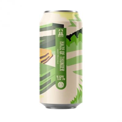 Brew York Haze of Thunder Pale 4.6% 440ml
