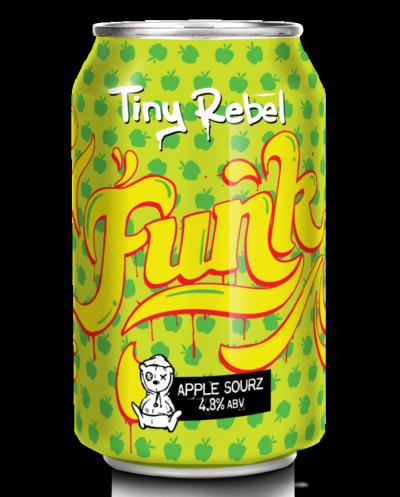 Tiny Rebel Funk Apple Sour 4.8% 330ml