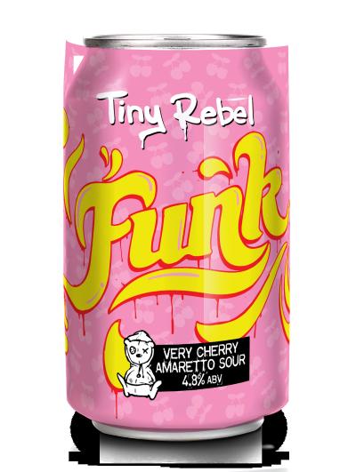 Tiny Rebel Funk Cherry Amaretto Sour 4.8% 330ml