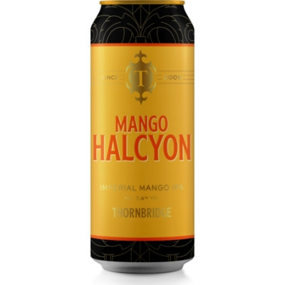 Thornbridge Mango Halcyon IPA 7.4% 440ml