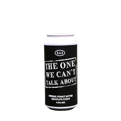S43 One We Can't Talk About Stout 9.0% 440ml