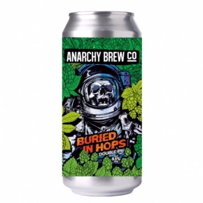 Anarchy Buried In Hops DIPA 8.5% 440ml