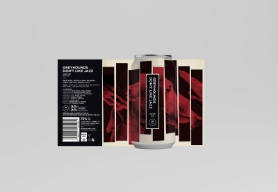 Wylam Greyhounds Jazz Sour IPA 7.1% 440ml