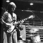 Brian Jones in Rome (April 1967) with Rickenbacker Model 360/12 Fireglo