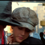 "Nicky and Pammy try the 3-card monte hustle - frame grab from ""Times Square"" (1980)"