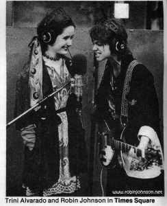 Photo of  Pammy and Nicky in the WJAD studio From: Mediascene Prevue Vol No 2, Sep/Oct 1980, p 16