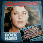 "UK pressing of ""Rock Hard"" single, picture sleeve, front"
