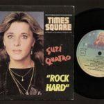 """Suzi Quatro """"Rock Hard"""" single, Portugal"""