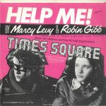 "The back of the picture sleeve for the single ""Help Me!"" by Marcy Levy & Robin Gibb, RSO 2090 481, as released in Italy in 1980. Text: HELP ME! 2090 481 BY Marcy Levy & Robin Gibb PRODUCED BY ROBIN GIBB AND BLUE WEAVER FROM THE ORIGINAL MOTION PICTURE SOUNDTRACK TIMES SQUARE A ROBERT STIGWOOD PRODUCTION RSO Records Inc. ℗ YAM, Inc. © 1980 Butterfly NV Distribuzione polyGram dischi S.P.A. - Made in Italy [This digital surrogate created by sean Rockoff for robinjohnson.net.]"