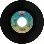 """The stereo side of the single """"Rock Hard,"""" cross-promoted by Dreamland and RSO Records, from the Suzi Quatro """"Rock Hard"""" promo pack, 1980. Text: DREAMLAND™ Records, Inc. HOLLYWOOD Chinnichap Publishing, Inc. (Admin. in the U.S.A. & Canada by Careers Music, Inc.) (BMI) Intro :17 3:23 PRODUCED BY MIKE CHAPMAN 25 PROMOTION COPY NOT FOR SALE STEREO DL 104 (DL 104 AS) Intl. # 2090 485 From the Soundtrack Album """"TIMES SQUARE"""" RS-2-4203 and the Dreamland Album """"ROCK HARD"""" DL-1-5006 ROCK HARD (M. Chapman-N. Quinn) SUZI QUATRO ℗ 1980 DREAMLAND RECORDS, INC. MANUFACTURED & MARKETED BY RSO RECORDS, INC. 8335 SUNSET BLVD., LOS ANGELES, CA 90069 [This digital surrogate was ceated by Sean Rockoff for robinjohnson.net.)"""