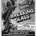 "Full page advertisement for ""Breaking Glass"" (1980)"