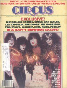 Circus, No. 248, October 28 1980, p. 1 (cover)