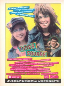 """""""Times Square"""" teaser ad from Circus, No. 248, October 28 1980, p. 2"""