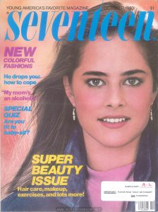 Cover of Seventeen Magazine, Vol. 39 No. 10, October 1980