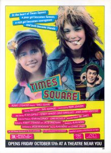 "Full page ""Times Square"" ad from Tiger Beat Vol 17 No 2 Nov 1980 p 29"