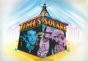 TIMES SQUARE UK Press Kit outer folder, inside