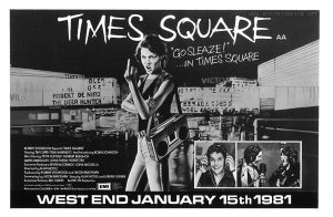 "1/2 page ad for ""Times Square"" from p. 10 of ""Leader"", Winter 1980"