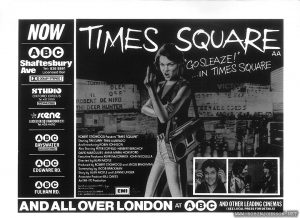 "Half-page ad for ""Times Square"""