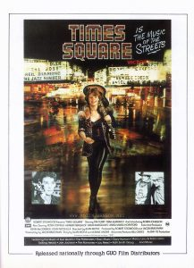TIMES SQUARE movie advertisement from Movie 81 No. 2, February 1981, p. 47