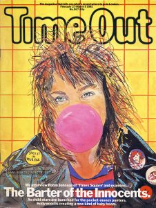 Time Out No. 567, February 25, 1981 -  Cover illustration of Robin Johnson by Su Huntley