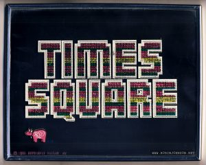 TIMES SQUARE soundtrack album promotional mirror