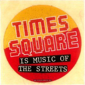 Australian promotional sticker, front, 1981